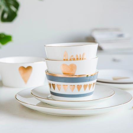 L Amour Dinnerware Heart P S Avenue